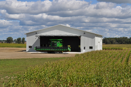 Agriculture Barn construction, machine sheds and more.