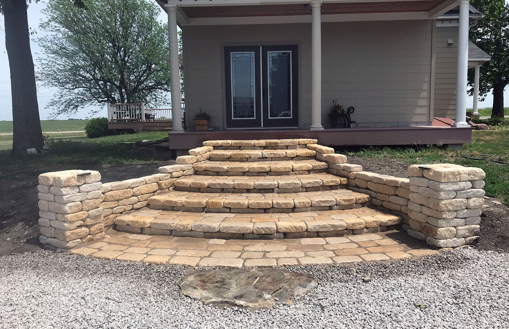 Paver Entries, Walkways and steps