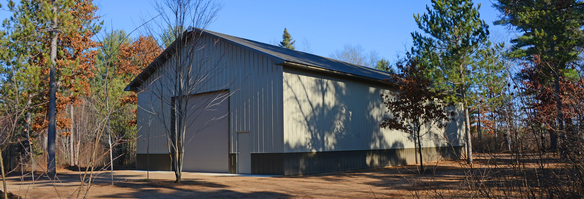Pole Barn Shed Construction