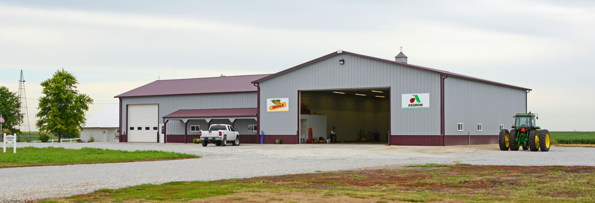 Multi-Use Agriculture Building Construction
