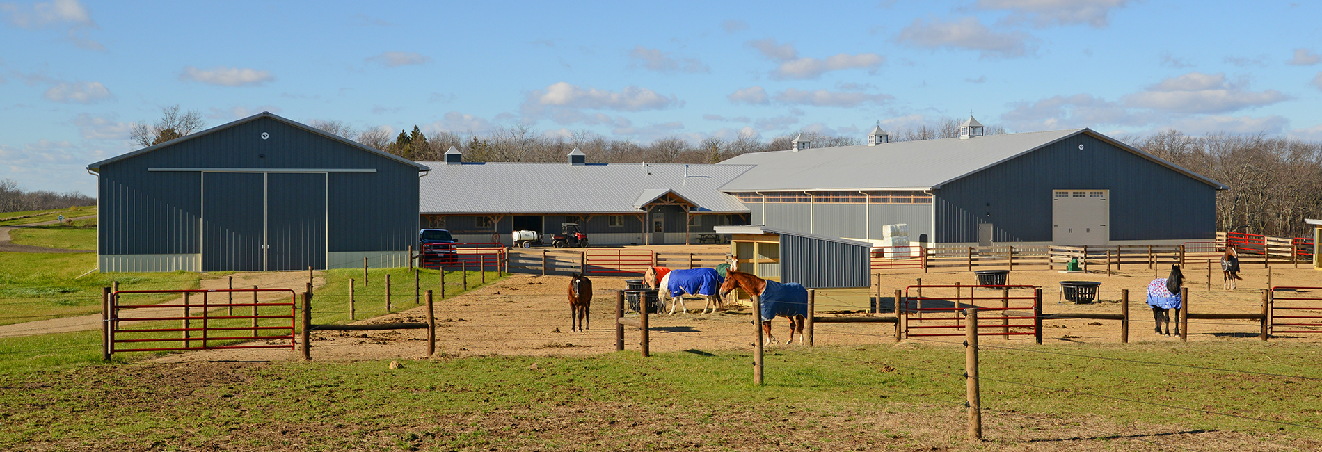 Horse Building, boarding and arena construction.